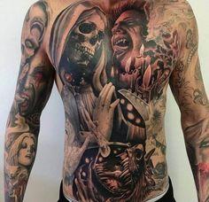 Tattoo Hell Demons Motif - Title