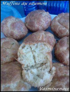 Muffins au saumon - A l'orée des douceurs