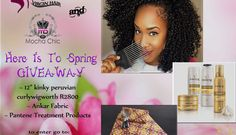 African Inspired Fashion, Spring Is Here, The Chic, Mocha, Ankara, Kinky, Giveaway, Wigs, Style Inspiration