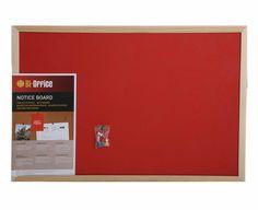 Bisilque Felt Notice Board 600x400mm