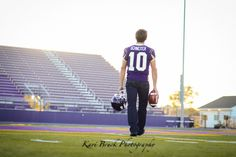 Kari Bruck Photography 2015 high school senior session pose idea for football players. High school senior boy inspiration for football. Senior guy Pictures. Sports or Sport pictures