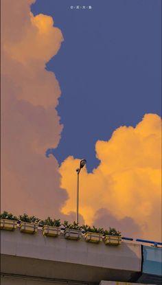 Cloud Wallpaper, Anime Scenery Wallpaper, Cute Wallpaper Backgrounds, Pretty Wallpapers, Aesthetic Desktop Wallpaper, Aesthetic Backgrounds, Beautiful Landscape Wallpaper, Beautiful Landscapes, Citations Photo