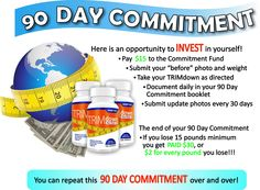 The TRIM down Global 90 Day Commitment Contest!