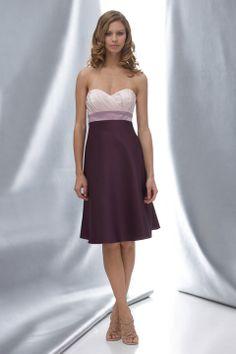 Sweetheart A-line with ruffle embellishment satin bridesmaid dress