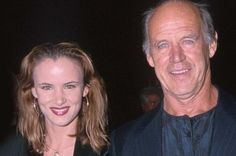 Juliette Lewis with her father the late (2015) actor Geoffrey Lewis