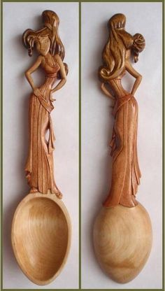 35 Amazing Carved Wooden Spoons