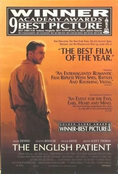 The English Patient (1996) movie #poster, #tshirt, #mousepad, #movieposters2