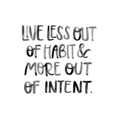Habits are hard to break