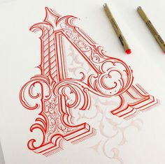 a colorful hand lettering Tattoo Lettering Fonts, Types Of Lettering, Lettering Styles, Graffiti Lettering, Lettering Design, Calligraphy Letters, Typography Letters, Caligraphy, Penmanship