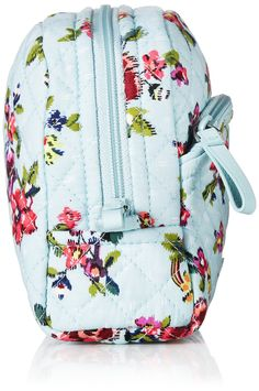b444e0ccab3ff Vera Bradley Iconic Medium Cosmetic Signature Cotton Water Bouquet    You  can get additional details at the image link. (Note Amazon affiliate link)   travel
