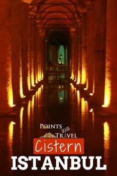 Come along with me as I discover the Cistern of Istanbul, Turkey!