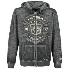 Black Premium by EMP Signature Collection - Hooded zip by AC/DC