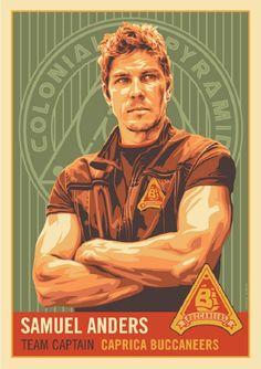 Battlestar Galactica Poster Art 04