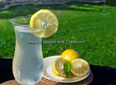 Herbs, Spices and Tradition: HOMEMADE LEMONADE