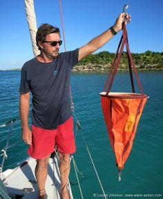 Stop swinging around at anchor.