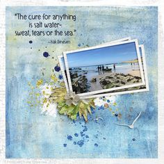 Cure for Anything Salt And Water, Digital Scrapbooking, The Cure, Landscapes, Digital Art, Posters, Wall Art, Travel, Paisajes