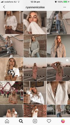 This feed has a really consistent light neutral/beige color scheme with pink tones. Best Instagram Feeds, Instagram Feed Ideas Posts, Instagram Feed Layout, Instagram Inspiration, Story Instagram, Instagram Blog, Instagram Aesthetic Ideas, Nature Instagram, Free Instagram