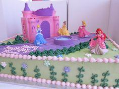 Disney Princess Birthday Cake  Flickr Photo Sharing cakepins.com