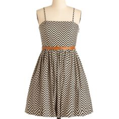 Cute pattern dress! modcloth.com