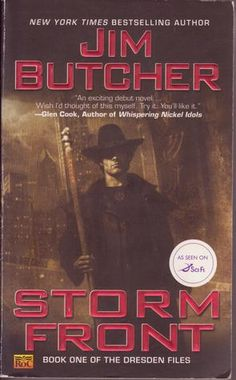 """I came to The Dresden Files because Jim Butcher (the author) had blurbed another series I was reading by Rachel Caine. I thought, """"Well if I like her books and he does too, maybe I'll like his books."""" And I do! Don't confuse this with the short-lived tv show of the same name -- the show was based off the books *premise* but MUCH was changed and I like the book version better!"""