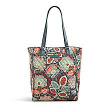 Crosstown Tote in Concerto with Black | Vera Bradley
