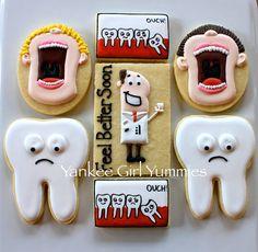Open Wide - Teeth Tooth Cookies
