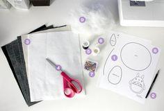 materiaux-nécessaires-pour-ráliser-doudou-a-faire-soi-meme-lapin-patron-feutrine-ciseaux-aiguilles-fils-machine-à-coudre-doudou-a-faire-soi-meme