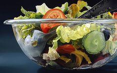 Peintures photoréalistes alimentaires par Tjalf Sparnaay