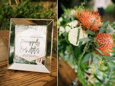 Retro Tropical Hawaii Wedding : Bajan Wed - -Bliss Wedding Design & Spectacular Events + Anna Kim Photography