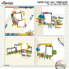 Paper Play #14 | Templates
