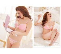 Koleksi lingerie pink unik berkualitas http://www.juallingeries.com/bra-set-cantik-br2f062pk/