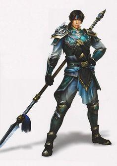 Zhao Yun dragon spear - Dynasty Warriors 8