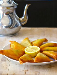 Brik: Tunisia fried phyllo pastry pie typically filled with egg, tuna, onion, parsley and harissa.