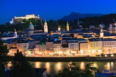 "Whenever I tell people that I live in Salzburg, they instantly picture me wearing a Dirndl, dancing around in the mountains, singing ""the hills are alive"". Truth is, since I've moved to Salzburg ab… Sound Of Music, Salzburg, New York Skyline, Dancing, Mountains, Live, People, Blog, Pictures"