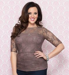 3d5544455b0 Plus size perfection! We re completely smitten with our latest lace  confection. This