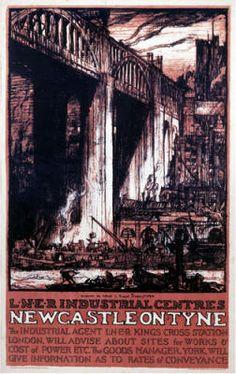 Newcastle High Level Bridge 1849