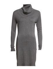 Dresses flat knitted - ASPHALT GREY MELANGE