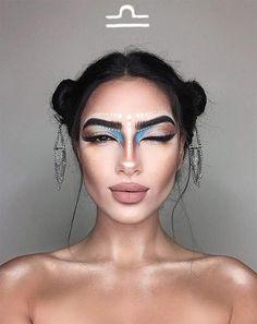 You must have seen these makeup star sign Diese Make-up-Sternzeichen-Looks musst du gesehen haben Do you love horoscopes? Then you absolutely must have seen these makeup star sign looks. Makeup Goals, Makeup Inspo, Makeup Art, Makeup Inspiration, Beauty Makeup, Eye Makeup, Hair Makeup, Makeup Ideas, Makeup Geek