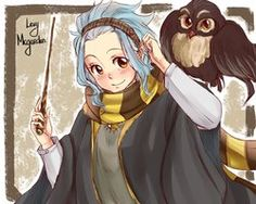 Hufflepuff! I don't know if I should put this in my Harry Potter board or Fairy Tail!