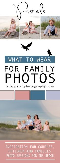to Wear for Family Photos What to Wear for your Family Beach Pictures!What to Wear for your Family Beach Pictures! Types Of Photography, Candid Photography, Documentary Photography, Fashion Photography, Photography Business, Photography Ideas, Portrait Photography, Family Beach Pictures, Beach Photos