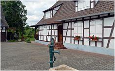 Hunspach. Alsacia ( Francia)