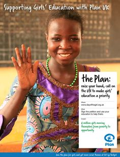 Raise your hand, call on the UN to make girls' education a priority
