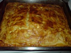 This domain may be for sale! Daily Bread, Greek Recipes, Lasagna, Feta, Food To Make, Sweets, Cooking, Ethnic Recipes, Macedonia