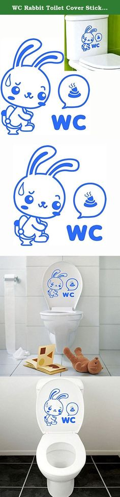 WC Rabbit Toilet Cover Sticker Removable Closestool Seat Decor // Wc etiqueta tapa de inodoro conejo del closestool extraíble decoración asiento. Wc etiqueta tapa de inodoro conejo del closestool extraíble decoración asiento en . Comprar moda Cubiertas Asiento del Inodoro en línea. Description:This is the New Art Toilet Seat Wall Sticker Vinyl Wallpaper Removable Bathroom Decals Decor.100% brand new and high qualityFunny design, great and easy for you to get to the wall decoration.Simple…