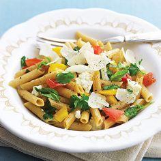 Pasta with Garden Veggies