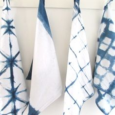 Indigo tea towels . . . or another color if you prefer. :)