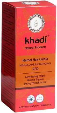 Khadi Herbal Hair Colour with Henna, Amla and Jatropha