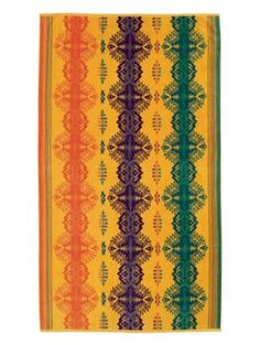 Every year I think about getting one of these as a beach towel, but I never do it...  Pendleton Woolen Mills: SUN DANCER SPA TOWEL