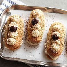 Tiramisu Ladyfinger Sandwiches From Better Homes and Gardens, ideas and improvement projects for your home and garden plus recipes and entertaining ideas.