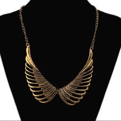 Golden Angel Wing Necklace New! Looks exquisite!! Jewelry Necklaces